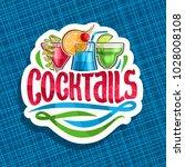 vector logo for alcoholic... | Shutterstock .eps vector #1028008108