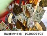 money baht  thai baht   Shutterstock . vector #1028009608