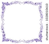 square frame from wild charming ... | Shutterstock .eps vector #1028010610