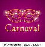 beautiful carnaval illustration ... | Shutterstock . vector #1028012314