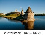 the ancient kremlin in the city ... | Shutterstock . vector #1028013298