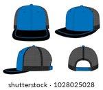 net hip hop cap design   trim...