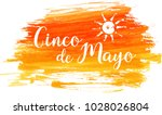 cinco de mayo holiday abstract  ... | Shutterstock .eps vector #1028026804