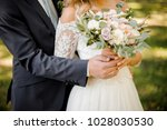 close up photo of a bridegroom... | Shutterstock . vector #1028030530