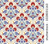 seamless turkish colorful... | Shutterstock .eps vector #1028031163