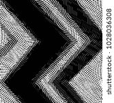 grunge halftone black and white ... | Shutterstock . vector #1028036308