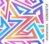 Colored Triangle Seamless...
