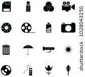 photographic equipment icon set   Shutterstock .eps vector #1028043250