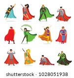 vector illustrations in flat... | Shutterstock .eps vector #1028051938