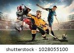 irresistible in attack. rage... | Shutterstock . vector #1028055100