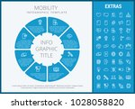 mobility infographic template ... | Shutterstock .eps vector #1028058820