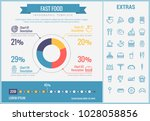 fast food infographic template  ...   Shutterstock .eps vector #1028058856