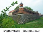 view to the historic castle...   Shutterstock . vector #1028060560