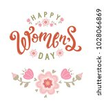 international women's day.... | Shutterstock .eps vector #1028066869