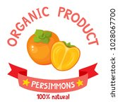 healthy organic fruits badge of ...   Shutterstock .eps vector #1028067700