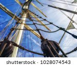 Detail Of Mast's Ship On A...