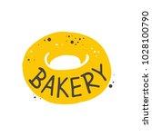 bakery. lettering. hand drawn...   Shutterstock .eps vector #1028100790