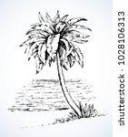 summertime exotic scenic view... | Shutterstock .eps vector #1028106313
