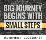 big journal begins with small...   Shutterstock . vector #1028106484