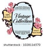 vector vintage frame with...   Shutterstock .eps vector #1028116570