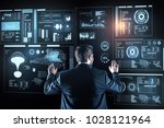 new information. smart... | Shutterstock . vector #1028121964
