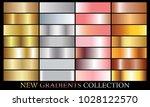 gold silver pink bronze... | Shutterstock .eps vector #1028122570