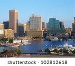 inner harbor at baltimore ... | Shutterstock . vector #102812618