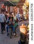 marrakesh  morocco   december 7 ... | Shutterstock . vector #1028135758