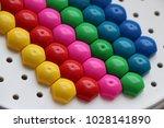 children's mosaic. background... | Shutterstock . vector #1028141890