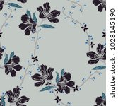 abstract elegance pattern with... | Shutterstock .eps vector #1028145190