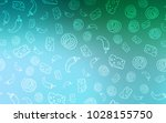 light green vector cover with... | Shutterstock .eps vector #1028155750