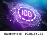 creative ico background.... | Shutterstock . vector #1028156263