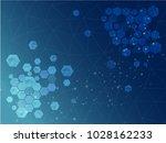 hi tech digital technology... | Shutterstock .eps vector #1028162233