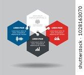 infographic template. vector... | Shutterstock .eps vector #1028163070