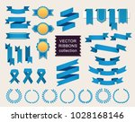vector collection of decorative ... | Shutterstock .eps vector #1028168146