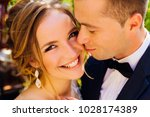 sincere smile of a beautiful... | Shutterstock . vector #1028174389