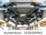 car chassis bottom view  | Shutterstock . vector #1028184964