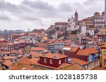 amazing view of the old... | Shutterstock . vector #1028185738