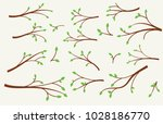 branches vector images  | Shutterstock .eps vector #1028186770