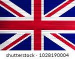 vector concept of british flag. ... | Shutterstock .eps vector #1028190004