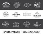 set of vector e commerce icons... | Shutterstock .eps vector #1028200030