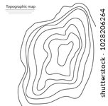 topographic map vector... | Shutterstock .eps vector #1028206264