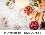 cooking italian food dessert... | Shutterstock . vector #1028207566
