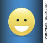set of smile icons. emoji.... | Shutterstock .eps vector #1028213230