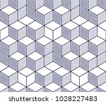 geometric cubes abstract... | Shutterstock .eps vector #1028227483