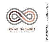 racial tolerance conceptual... | Shutterstock .eps vector #1028232478