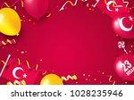 23 april national sovereignty...   Shutterstock .eps vector #1028235946