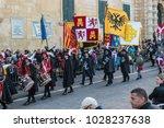 valletta  malta  europe. 02 11... | Shutterstock . vector #1028237638
