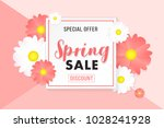 promotion background poster... | Shutterstock .eps vector #1028241928