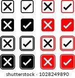 cross mark icon  delete mark... | Shutterstock .eps vector #1028249890